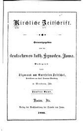 Kirchliche Zeitschrift: Volumes 5-6