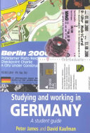 Studying and Working in Germany