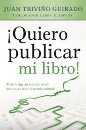 Â¡Quiero publicar mi libro!