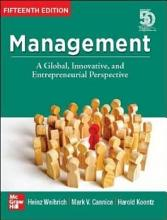 Management  A Global  Innovative and Entrepreneurial Perspective  15th Edition  PDF
