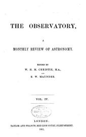 The Observatory: Volume 4
