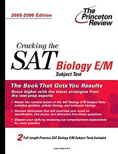 Cracking the SAT II Biology E M Subject Test Book