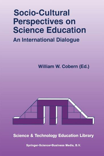 Socio Cultural Perspectives on Science Education PDF