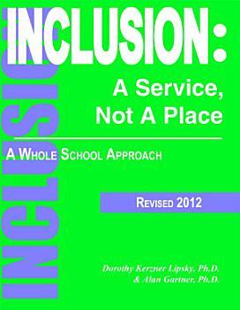 Inclusion  A Service Not a Place PDF