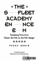 The Star Fleet Academy Entrance Exam PDF
