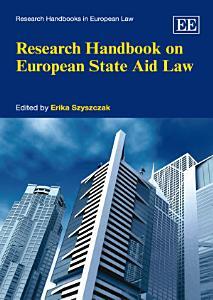 Research Handbook on European State Aid Law PDF