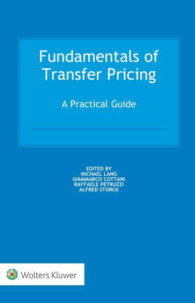 Fundamentals of Transfer Pricing PDF
