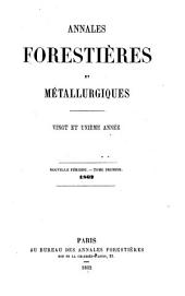 Annales forestières: Volume21