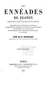 Les Ennéades de Plotin: Volume1