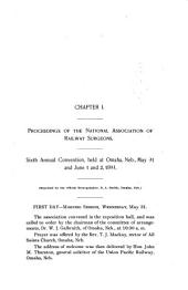 Official Report of the Annual Meeting: Volume 6