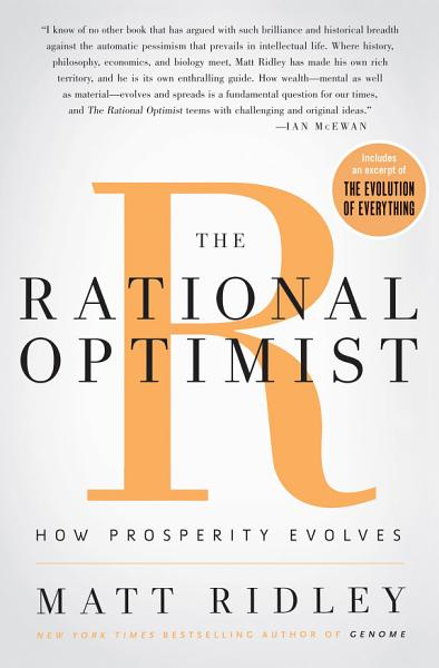 Download The Rational Optimist Book