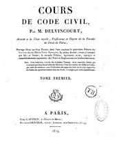 Cours de Code Civil: Volume 8