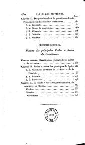Histoire critique du gnosticisme et de son influence sur les sectes religieuses et philosophiques des six premiers siècles de l'ère chrétienne...