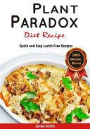 Plant Paradox Diet Recipe Book