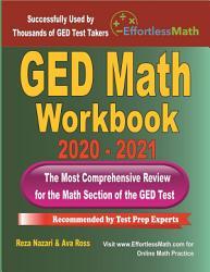 GED Math Workbook 2020   2021 PDF