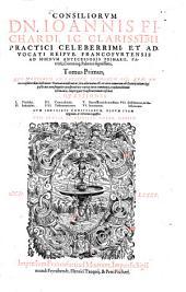 Consilia: Qvi (Conversis In Latinvm Sermonem Iis. Qvae Avtor consultoribus inseruiens Teutonica inseruerat:) ita adornatus est, vt citra remoram ab Exteris etiam legi poßit: ... Cvm Indicibvs .... 1