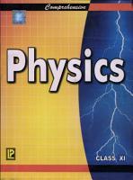 Comprehensive Physics XI PDF
