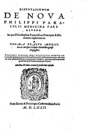 Disputationum de noua Philippi Paracelsi Medicina pars altera ...