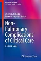 Non Pulmonary Complications of Critical Care PDF