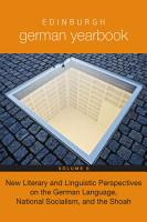 New Literary and Linguistic Perspectives on the German Language  National Socialism  and the Shoah PDF