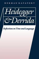 Heidegger and Derrida