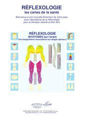 RÉFLEXOLOGIE - les MYOTOMES sur l'avant: Réflexologie - les cartes de la santé