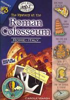 The Mystery at the Roman Colosseum  Rome  Italy  PDF