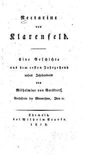 Nectarine von Klarenfeld: eine Geschichte aus dem ersten Jahrzehend unsers Jahrhunderts