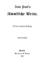 Jean Paul's Sämmtliche Werke: Mumien, Band 2