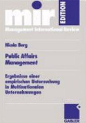 Public affairs Management PDF