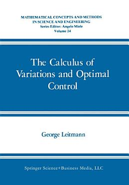 The Calculus of Variations and Optimal Control PDF