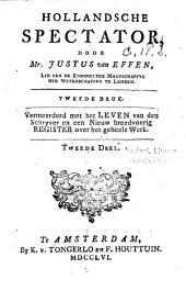 Hollandsche spectator: Volume 2