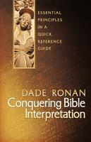 Conquering Bible Interpretation PDF