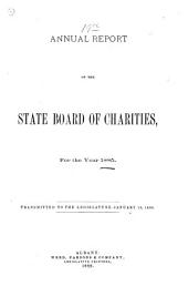 Annual Report of the New York State Board of Social Welfare and the New York State Department of Social Services