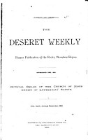 The Deseret Weekly PDF