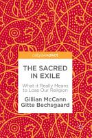 The Sacred in Exile PDF