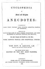 Cyclopedia of Moral and Religious Anecdotes     With an introduction  by Rev  George B  Cheever PDF