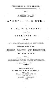 American Annual Register: Volume 7