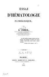 Essai d'hématologie pathologique