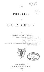 The Practice of Surgery