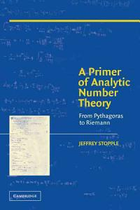 A Primer of Analytic Number Theory PDF