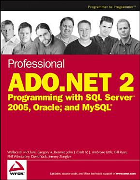 Professional ADO NET 2 PDF