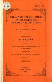 Art. 56 van het reglement op het beleid der regering van Ned. Indië