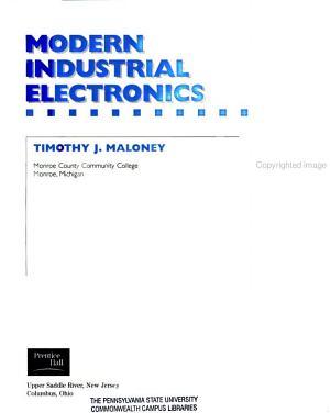 Modern Industrial Electronics