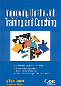 Improving On the job Training and Coaching Book