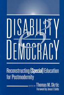 Disability And Democracy Book PDF