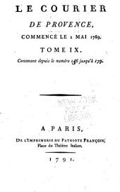Le Courier de Provence: Volume9,Numéros156à179