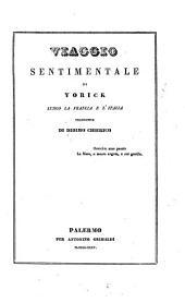 Viaggio sentimentale di Yorick lungo la Francia e l'Italia [Sterne Laurence]