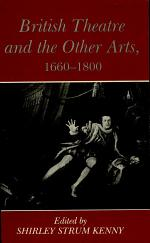 British Theatre and the Other Arts, 1660-1800