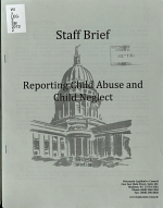 Reporting Child Abuse and Child Neglect